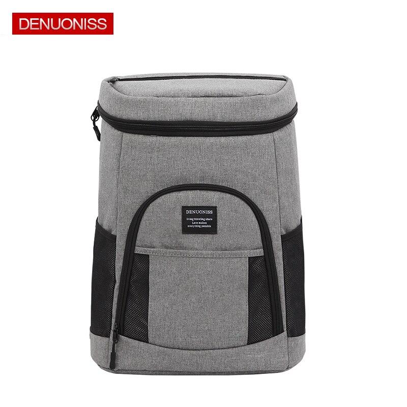 Comfortable Insulated Cooler Backpack Lightweight Backpack Cooler Leak proof Soft Large Camping Cooler Bag for Wine & Beer
