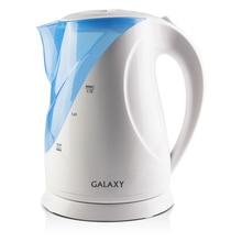 Чайник электрический Galaxy GL 0202 (мощность 2200 Вт, объем 1,7 л, пластиковый корпус, отсек для хранения шнура)