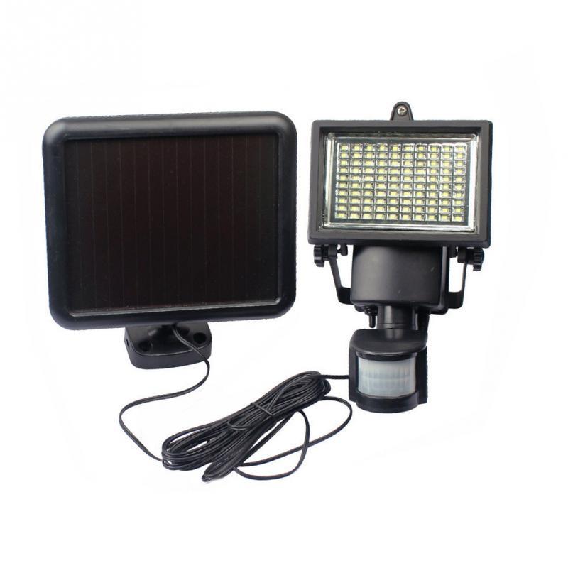 100 LED Solar Lamp Solar Light High Power Outdoor Waterproof Street Light PIR Motion Sensor Security Lighting Solar Wall Lamps