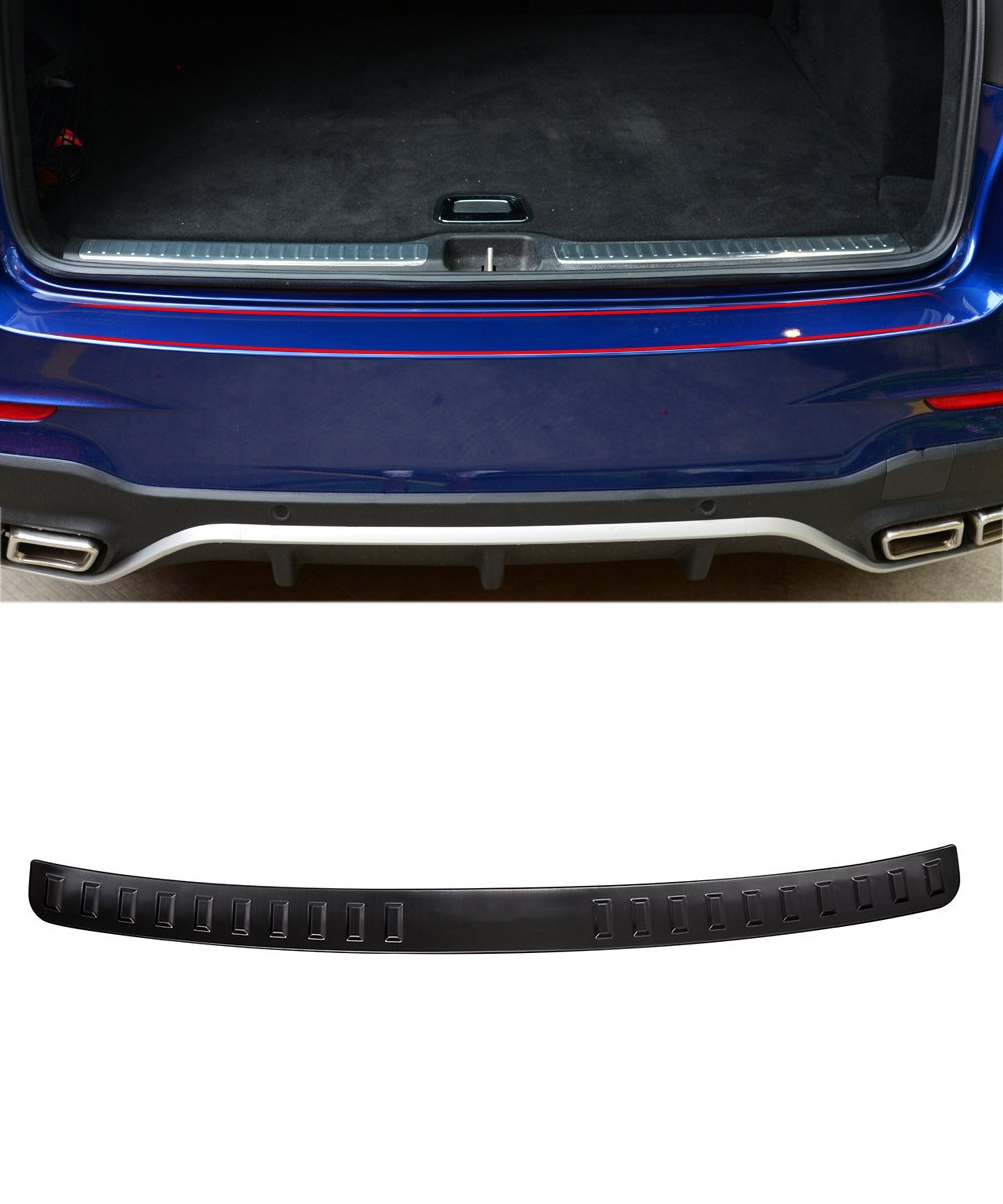 For Mercedes Benz GLC Class 2015 2016 2017 Stainless Car Rear Bumper Outside Sill Plate Protector Cover Trim Auto AccessoriesFor Mercedes Benz GLC Class 2015 2016 2017 Stainless Car Rear Bumper Outside Sill Plate Protector Cover Trim Auto Accessories