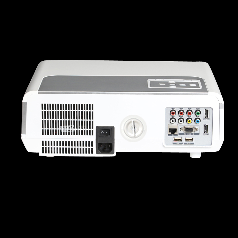 Hiperdeal Home Cinema Theater Multimedia Led Lcd Projector: 3500Lumens 1080P HD Multimedia LCD LED Projector Home