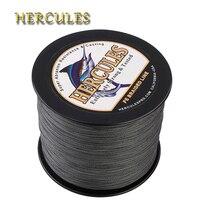 Hercules 1000m Fishing Line 8 Strands Carp Fishing Braided Wire PE Cord Pesca 15 Colors Peche
