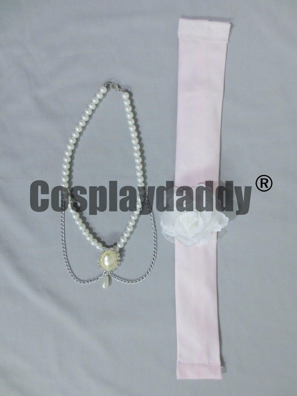 Love Stage!! Izumi Sena MV Wedding dress with necklace Cosplay ...