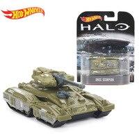 Hotwheels Retro Unterhaltung Halo UNSC Warthog UNSC Gungoose UNSC Skorpion Fahrzeug 1: 64 Skala Auto Sammlung Modell Spielzeug DMC55