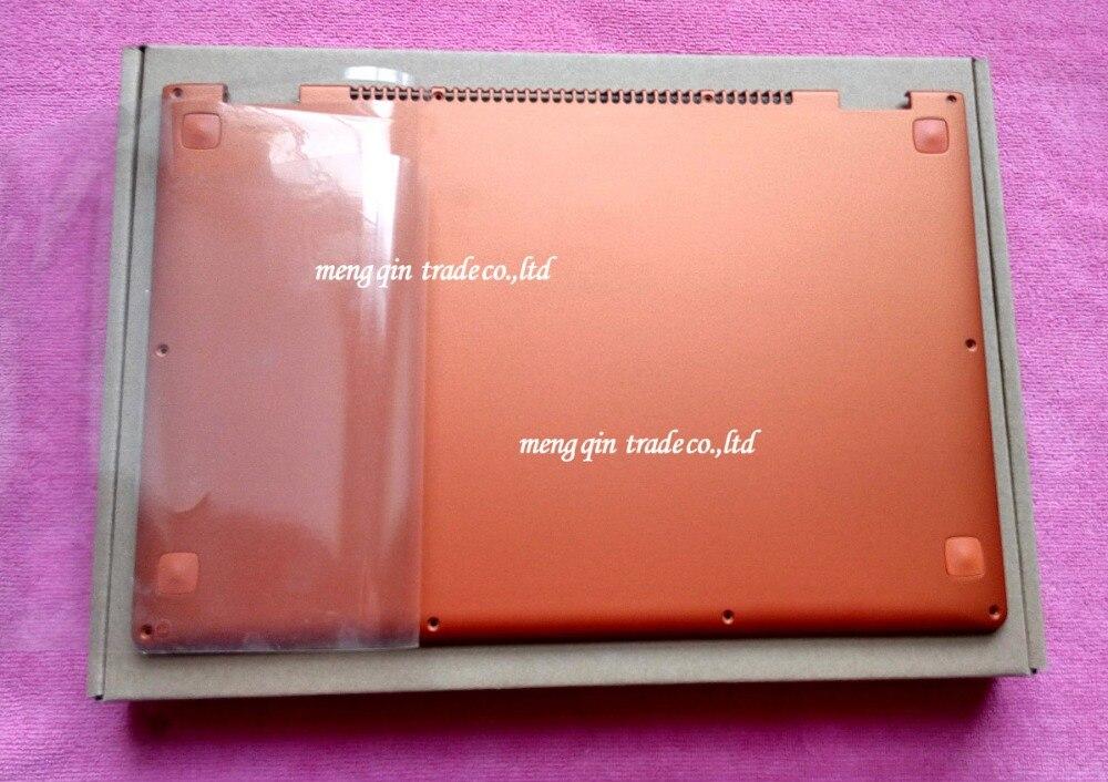 Новый оригинальный для Lenovo IdeaPad Йога 13 База Нижняя крышка оранжевая нижний регистр с Динамик L + R Беспроводной Телевизионные антенны 11s30500246