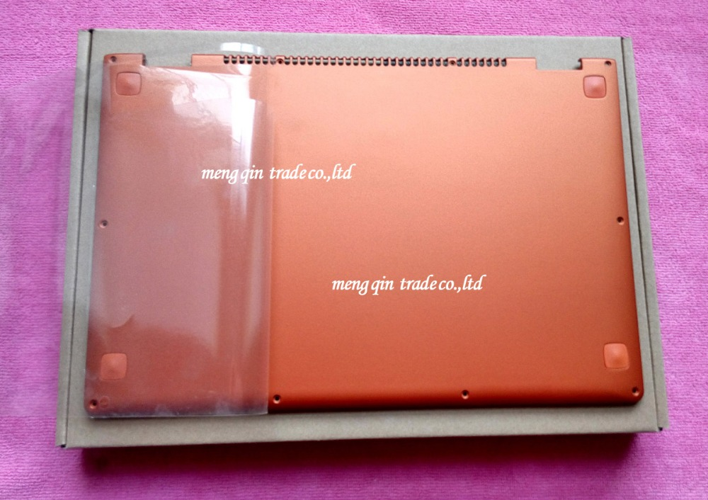 New Original for Lenovo Ideapad Yoga 13 Base Bottom Cover Orange Lower Case with Speaker L+R Wireless Antenna 11S30500246 new for lenovo ideapad yoga 13 bottom chassis cover lower case base shell orange w speaker l