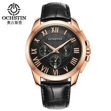 Men's Quartz Watches Top Brand Luxury Men Business Calendar Wristwatch Watch Male 2019 New Leather Strap Horology Montre Homme цена 2017