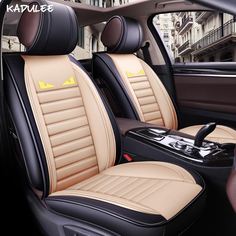 KADULEE font b car b font seat covers for land rover freelander 2 emgrand ec7 lifan
