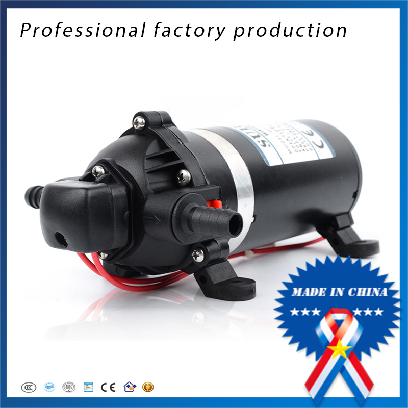 FREE SHIPPING DP-80 Diaphragm Pump DC 24V Use for Chemical Metering House Clean Spray equipment Mini Water Pumps