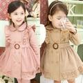 Anlencool Envío libre 2017 bebés del otoño y el invierno ropa nueva de Corea Del comercio exterior gruesa capa de los niños visten la ropa del bebé