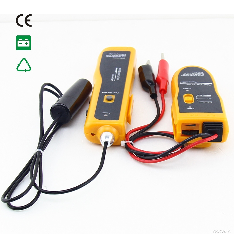 Free Shipping NOYAFA NF 816 Underground Wire Locator Cable Tracker Network Finder CATV COAX Tracer Tester