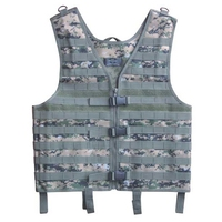 Mens Airsoft Tactical Vest Military Molle Hunting Vest Sport Modular Combat Gear