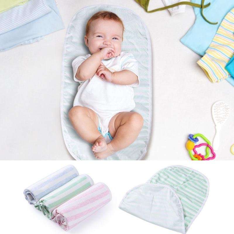 3pcs/lot Portable Newborn Baby Nappy Changing Pads Foldable Infant Diaper Toilet Training Mat Waterproof Toddler Urine Mat Cover