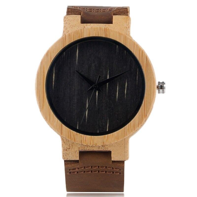 ბუნებრივი მარტივი ხის - მამაკაცის საათები