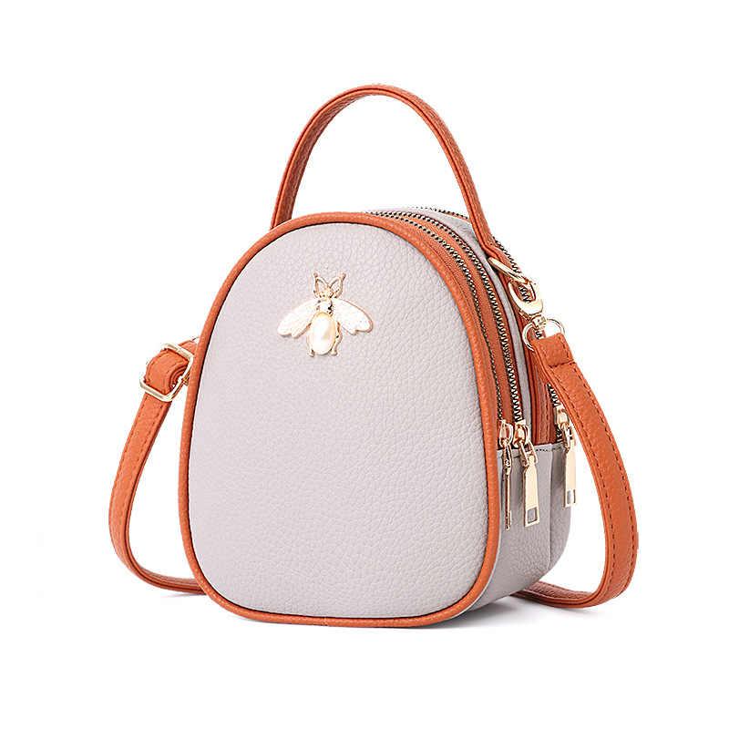 82c6b626368b ... Luxury Handbags Women Bags Designer Ladies  Pu Leather Shoulder Bag for Women  2018 Fashion Bee