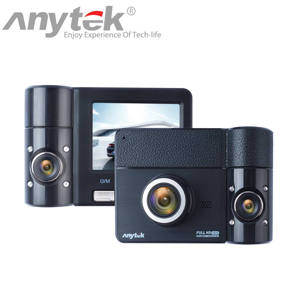 Original Anytek B60 270 Degree Lens Rotation Rear View Camera Driving Support Function Car DVR Dashcam Parking Monitoring