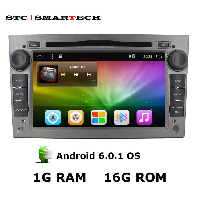 SMARTECH Car Multimedia Player For Opel 2Din Android 6.0 7 inch Astra Vectra Antara Zafira Corsa DVD Player Radio RDS GPS Wifi