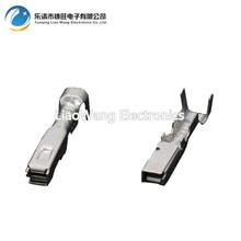 все цены на 100 PCS  2.2 series automotive connector connector wiring copper terminal tinned DJ627-F2.2A plug spring plug онлайн