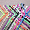 1cm Neon candy solid color elastic shoulder bra strap back cross slip-resistant underwear bra with /Fashion bra strap 1