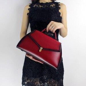 Skórzana torebka damska 2019 top damski rama do torebki wykonany ręcznie ze skóry wołowej z paskiem na ramię torba elegancka torebka na ramię