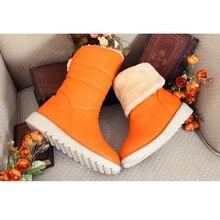 2014ฤดูใบไม้ร่วงและฤดูหนาวรองเท้าหิมะหรูหราอบอุ่นแฟชั่นป่าXLขายหญิงรองเท้าสั้นรองเท้าขนาดบวก34-43 XY093