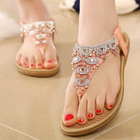 Shoes Woman Sandals Designer Shoes Women Luxury 2018 Fashion Solid Flats Sandals Ladies Shoes Zapatos Mujer