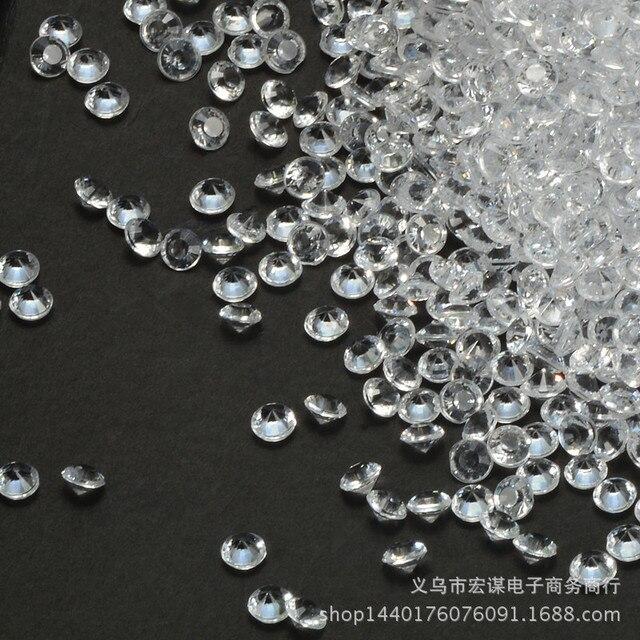 5000pc 45mm Clear Acrylic Diamond Wedding Table Decoration Diamond