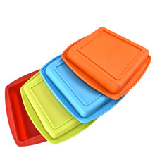 ФОТО  25.5 x 26.5 cm cake mold food safety silicone cake mould cooking baking cake tools bareware maker mould pastry tools