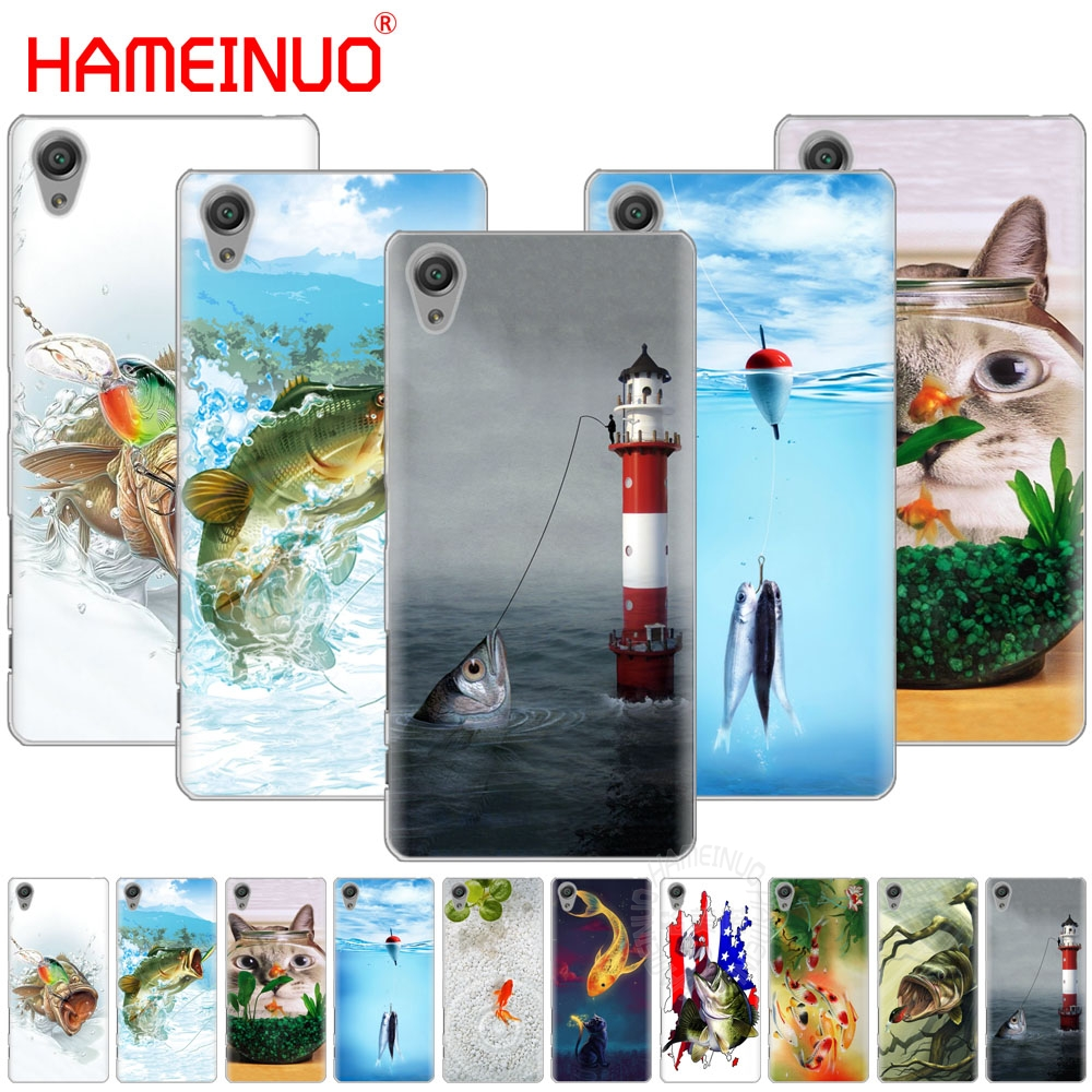 Diligent Hameinuo Cute Gold Fish Fishman Cover Phone Case For Sony Xperia C6 Xa1 Xa2 Xa Ultra X Xp L1 L2 X Xz1 Compact Xr/xz Premium Phone Bags & Cases