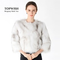 100% настоящий Лисий мех пальто из натурального меха куртка настоящий жилет на лисьем меху модный Фабричный бренд мех оптом на заказ Плюс Раз