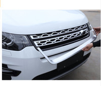 ABS Chrome U Shape Front Grille Cover Frame Trim For Land Rover Discovery Sport 2015 2018 Car Accessories