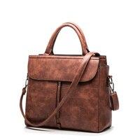 2016 Famous Brand Women Genuine Leather Handbags Tassel Women Leather Handbags Bolsa Femininas Women Messenger Bags