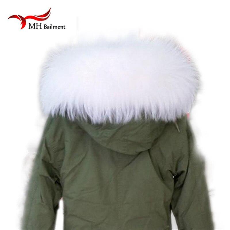 Mýval kožešinový límec zimní dámské skutečné kožešinové - Příslušenství pro oděvy