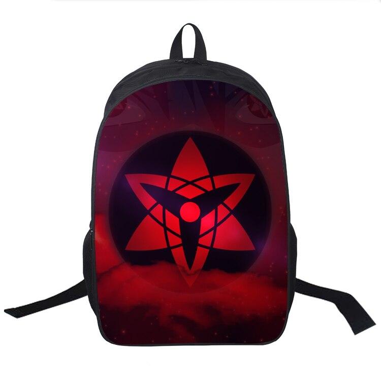 Anime Naruto School Bag Teens Boys Girl Students Back To School Book Bag Laptop Backpack Naruto Uzumaki Kurama Printing Backpack