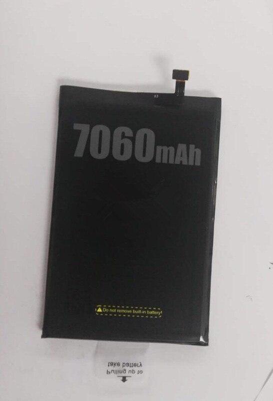 Batería del teléfono móvil DOOGEE BL7000 batería 7060 mAh tiempo de espera largo alta capacidad DOOGEE accesorios para móviles