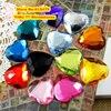 10 000pcs Bag 4mm Heart Shape Flat Back Round Acrylic Rhinestones Acrylic Plastic 3D Nail Art