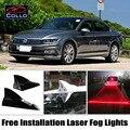 For Volkswagen Passat B6 B7 B8 / Magotan / Variant / CC / Free Installation Solar Energy Shark Fin Laser Fog Lamp Warning Lights