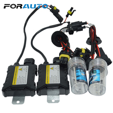 FORAUTO Car Headlight 35W H1 H4-3 H7 H11 D1S D2S D2R Head Lamp High Low Beam Car-styling Xenon HID Conversion Kit Silm Ballast(China)