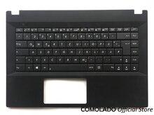 GR Germany Laptop Keyboard For Asus P45VA 1 AP45VJ APro  P45VJ TOP Palmrest Upper cover