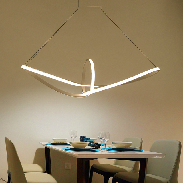Buy modern led chandelier for living for Foto lampadari moderni
