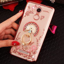 For Xiaomi Redmi Note 6 5A 4 Cover Xiaomi Redmi 5 Plus Case Diamond 3D Ring Plating Soft TPU Silicone Phone Back Redmi Pro 4A 4X все цены