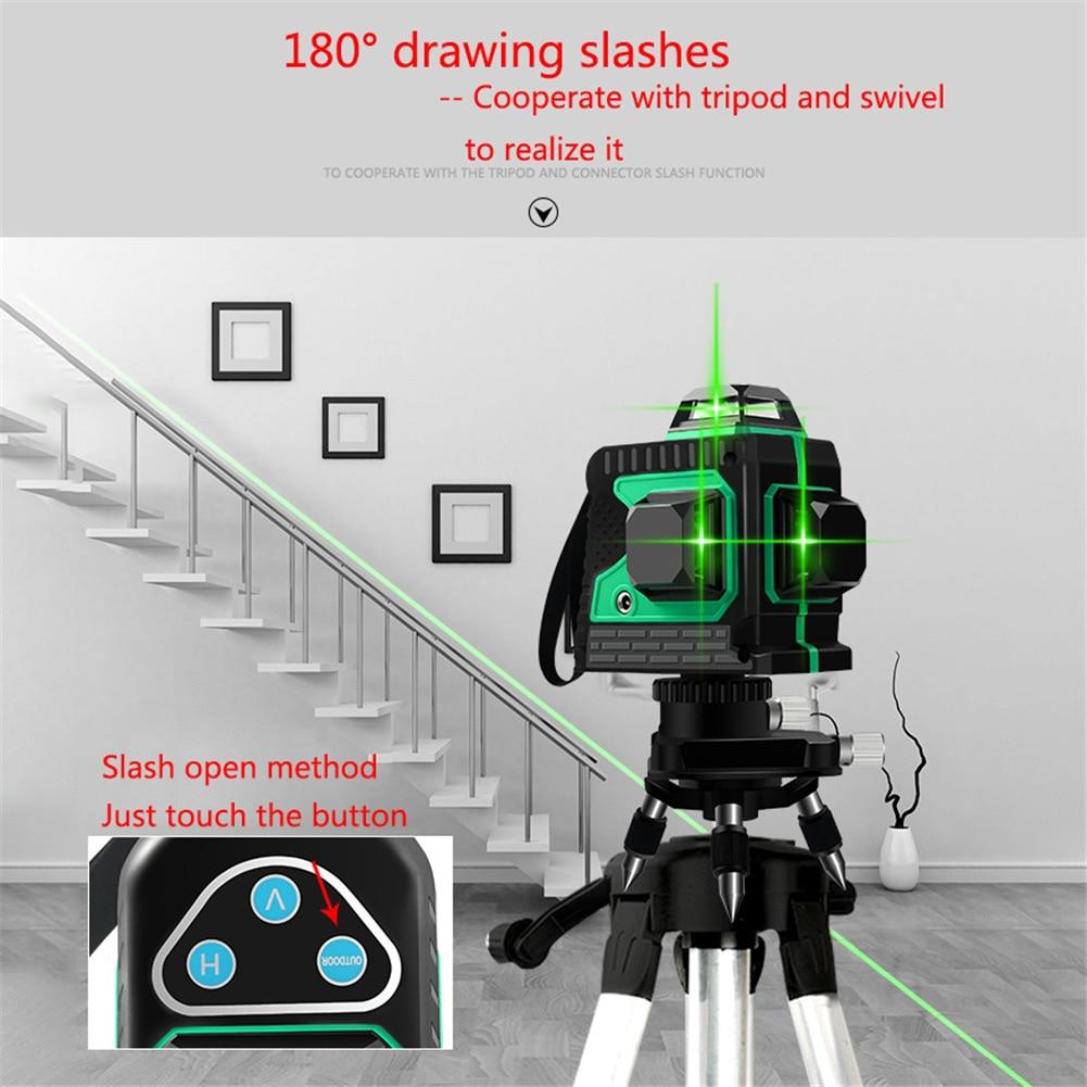 Laser Verde À Prova D' Água Auto-Nivelamento