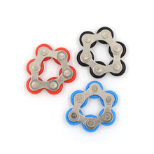 Fidget Spinner Bracelet Bike Anti-Stress ADHD Adult/student Toy Chain Autism for And