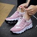 2017 de Las Mujeres Zapatos Casuales Zapatos de Deporte de Las Mujeres Chaussure Femme Zapatos Planos Tenis Feminino Mujeres Entrenadores Zapatillas Deportivas Mujer