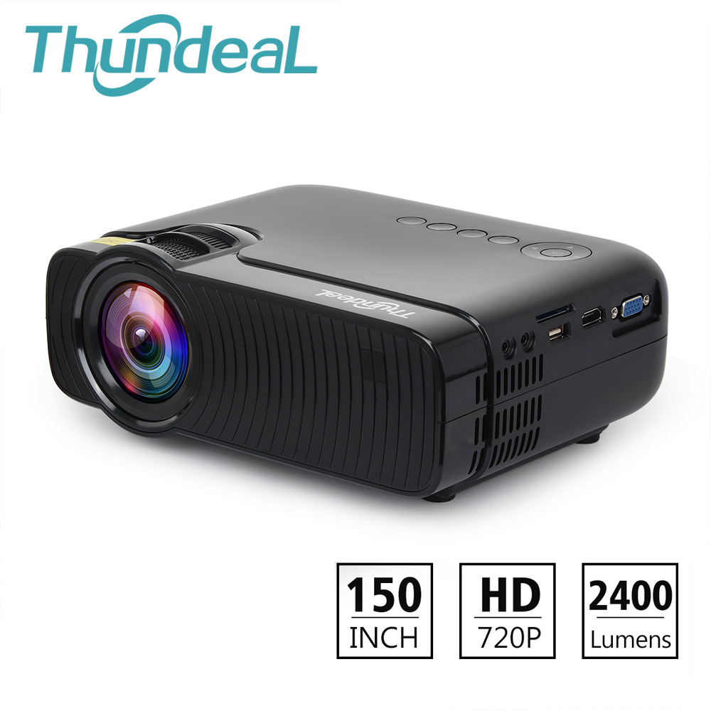 ThundeaL TD30 Max Projector 1280 720 Optional Android 6 0 WiFi Bluetooth 4K Mini LED Projector