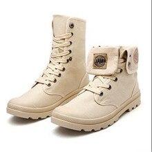 Zapatos de Tobillo Zapatos de Lona Ocasionales de los hombres de Combate Táctico Con Cordones de Primavera/Otoño Hombres Zapatillas Hombre Grande Tamaño 39-44