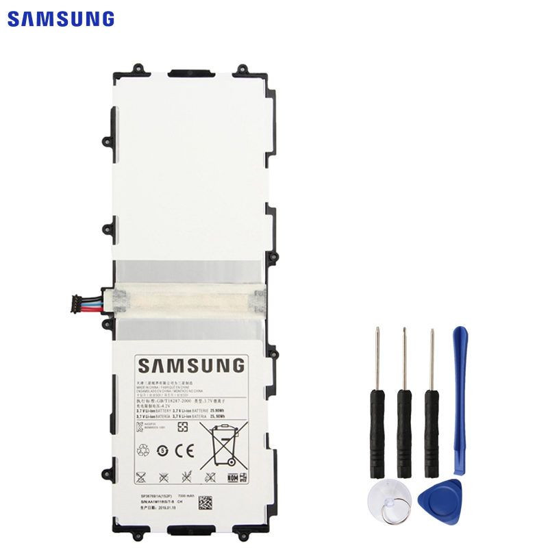 SAMSUNG Tablet Battery-Sp3676b1a GT-N8000 P7510 N8020 P5113 Note 10.1 Original for Galaxy