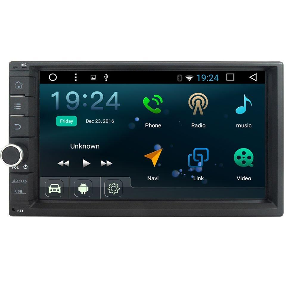 GPS Navigation Car Stereo Android 6.0 2 Din 7'' In Dash