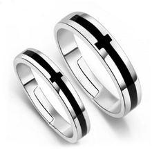 Оптовая Продажа 925 серебро с черным перекрестным креплением