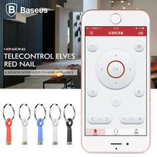 Baseus Smart IR Remote Control 3.5mm Jack Dust Plug TV Air Conditioner Projector IR Controller Universal for iPhone iOS